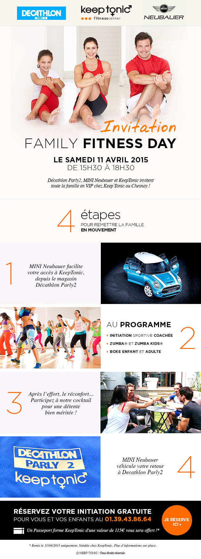 fitness day - Le samedi 11 avril 2015